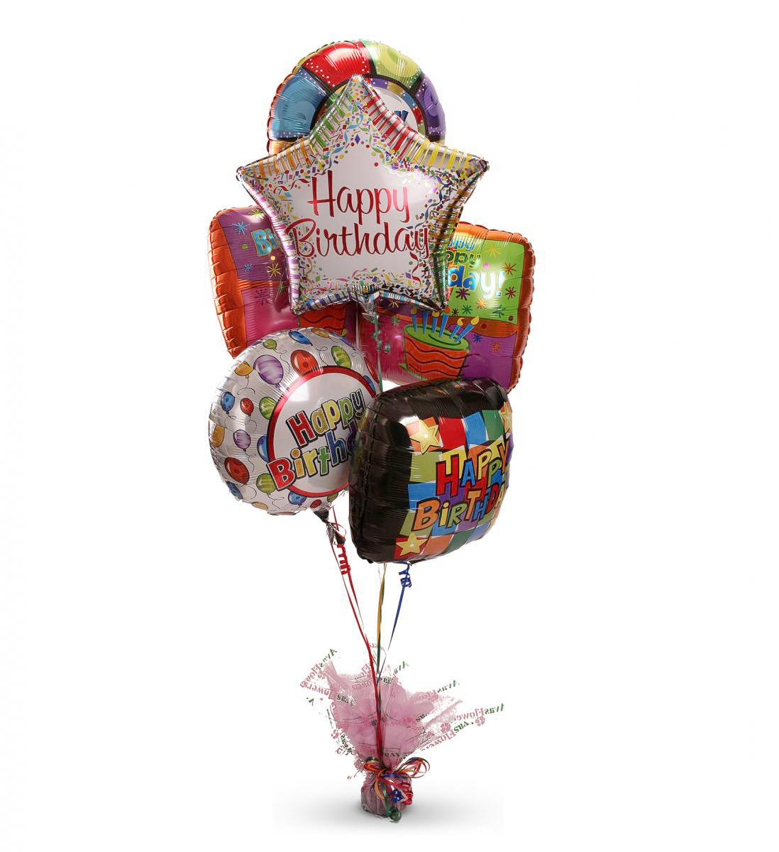 Send Birthday Balloon Bouquet Abmfb8